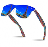 Polarized Wooden Temple Sunglasses Discount 50% coupon code off Amazon