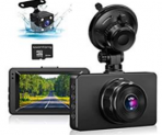 Dash Cam Front and Rear Discount 50% off Amazon