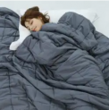 Idea 15-lb. Twin Weighted Blanket Discount 35% coupon code off Amazon