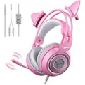 G951s Pink Stereo Gaming Headset with Mic for PS4 Discount 60% coupon code off Amazon