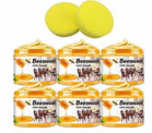 6 Pack Beeswax Furniture Polish with 2 Sponge Discount 50% coupon code off Amazon
