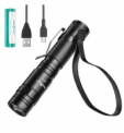 LED USB Rechargeable Pocket Flashlight Discount 50% coupon code off Amazon