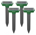 Solar Sonic Mole Repellant Spike 4-Pack Discount 40% coupon code off Amazon