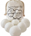 Wool Dryer Balls-Pack of 6 XL Discount 50% coupon code off Amazon