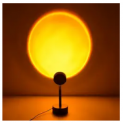LED Sunset Projector Lamp Discount 70% coupon code off Amazon