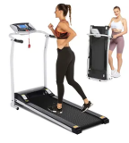 Folding Electric Treadmill Discount 40% coupon code off Amazon