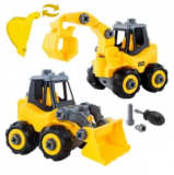 Take Apart Construction Vehicle 2-Pack Discount 60% coupon code off Amazon