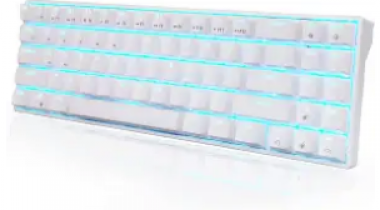 Royal Kludge LED Backlit Mechanical Keyboard Discount 45% coupon code off Amazon