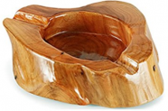 Wooden Cigar Ashtray Outdoor Indoor Cigar Ashtray And Great Gifts for Cigar Lovers Discount 40% coupon code off Amazon