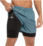 2 in 1 running shorts Discount 40% coupon code off Amazon