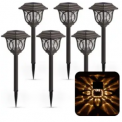 Solar Pathway Light 6-Pack Discount 40% coupon code off Amazon