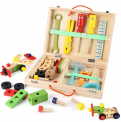 Kid's Wooden Tool Kit Discount 40% coupon code off Amazon