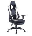 Massaging Gaming Chair with Footrest Discount 40% coupon code off Amazon