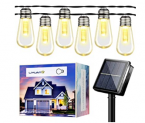 LED Outdoor String Lights Discount 58% coupon code off Amazon