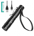 LED USB Rechargeable Pocket Flashlight Discount 40% coupon code off Amazon