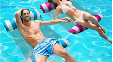 Inflatable Pool Floats – 2pk Discount 50% coupon code off Amazon
