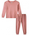 Boys and Girls Solid Color Pajamas Discount 50% off Amazon