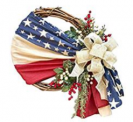 Independence Day Wreath Porch Decoration Discount 70% coupon code off Amazon