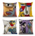 Throw Pillow Covers 4-Pack Discount 75% coupon code off Amazon