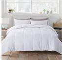 White Down Alternative Quilted Comforter Discount 70% coupon code off Amazon